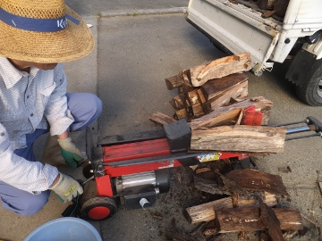 薪割り久々2