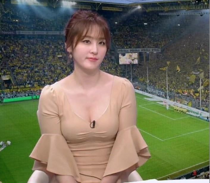 サッカー番組の女キャスター7