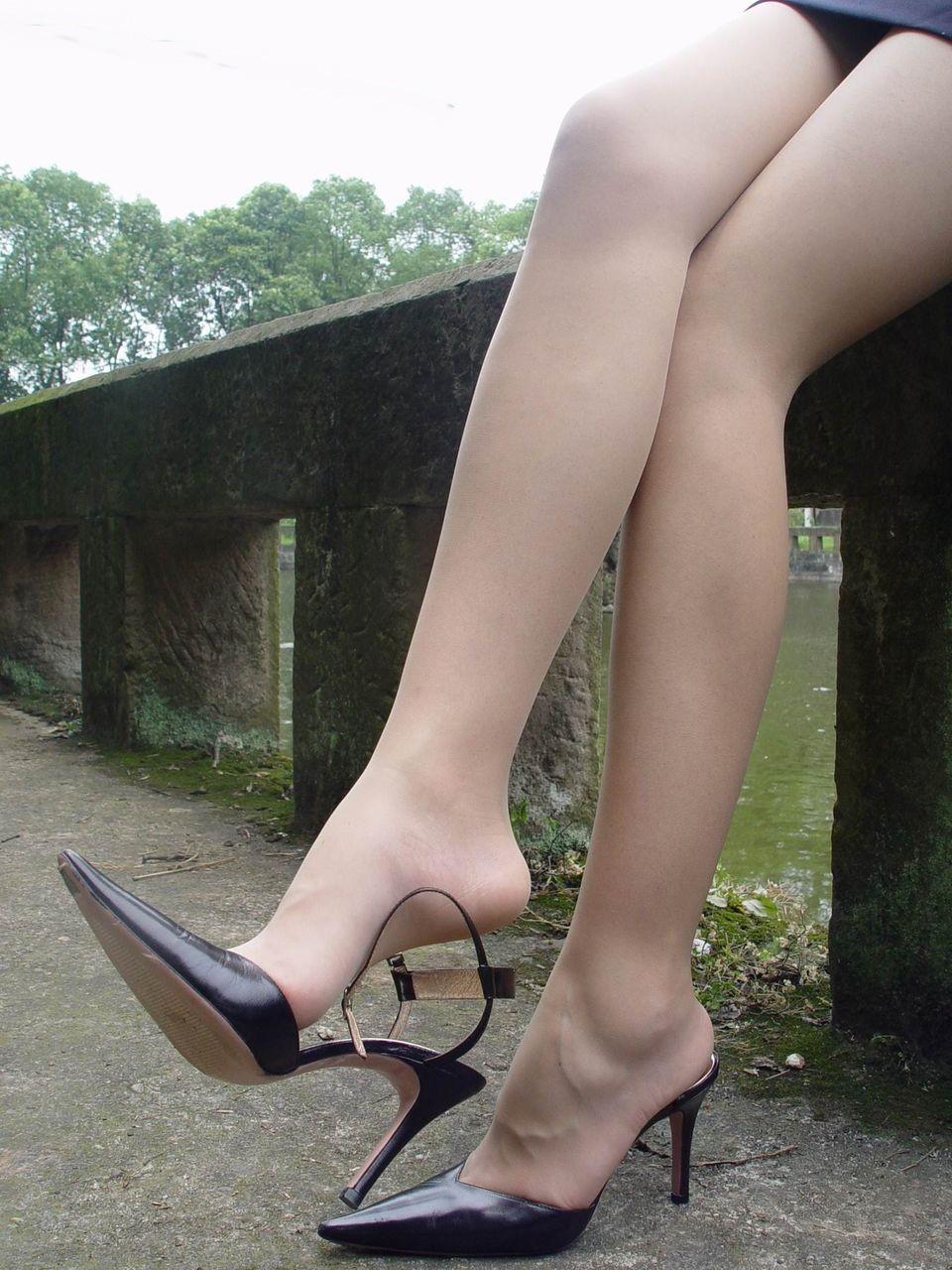 街中の脚5