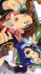 a 333173 homura_ren kagetsuki_akira megane mizusawa_aoi monster_strike seifuku takada_mari
