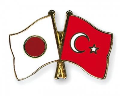 Japan-Turkey flag