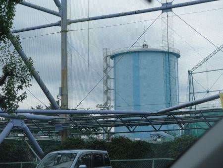 貯水タンク?
