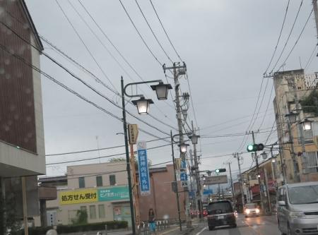 栃木 街灯