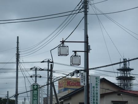 栃木県 矢板 街灯
