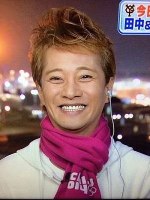 中居 笑顔