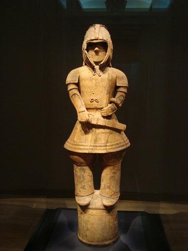 東京国立博物館平成館武人埴輪