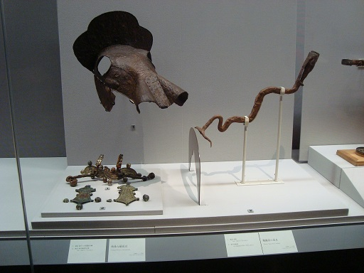 東京国立博物館平成館戦闘用馬具
