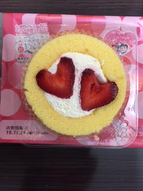 ローソンロールケーキ