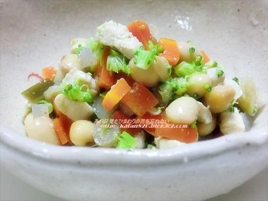 根菜と大豆の五目煮♪