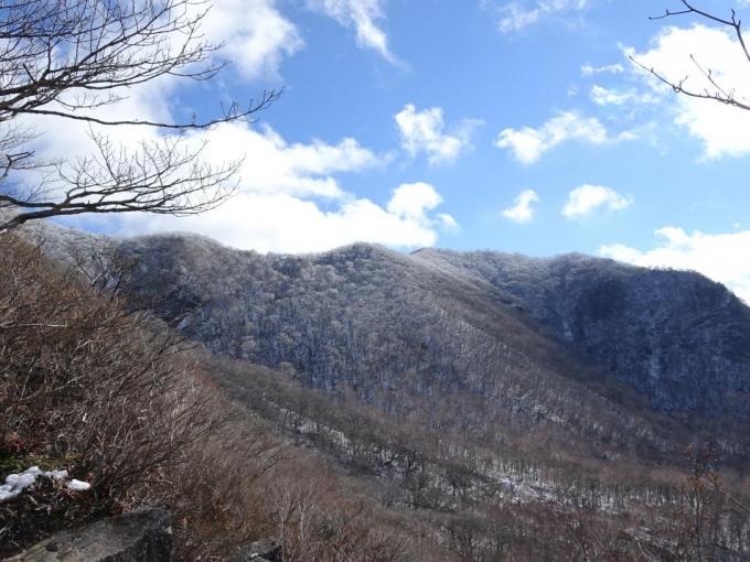 駒ヶ岳稜線