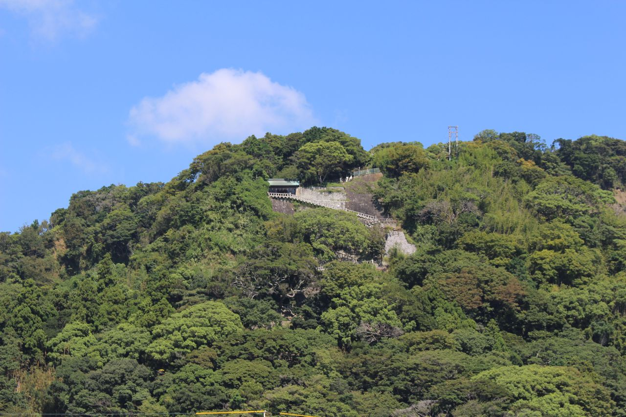 久能山東照宮(下から)