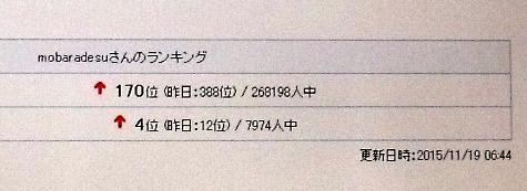 2015119 4位&170位&柿 022-3