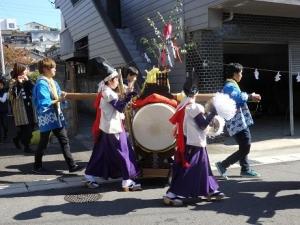 囃子と太鼓