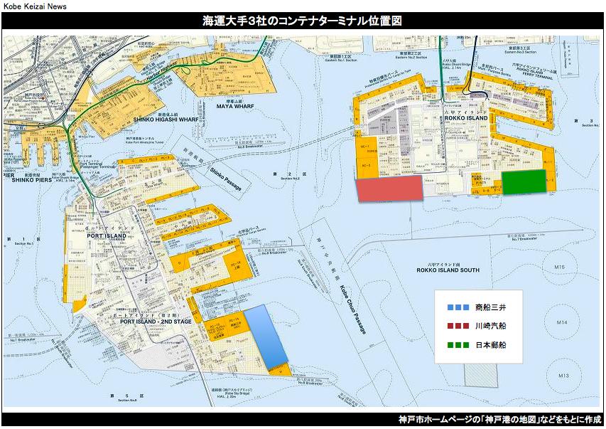 20161031海運3社コンテナ統合の図