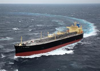 20161130川重LNG船引き渡し