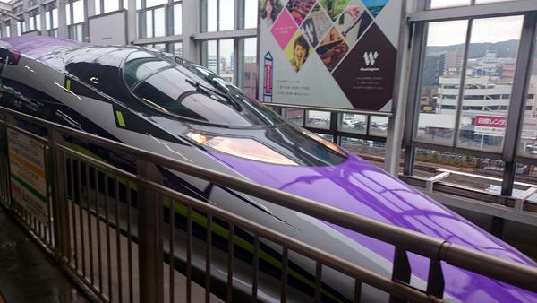 エヴァ新幹線2015①
