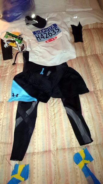 神戸マラソン2015準備品