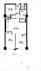 ヴェラハイツ目黒三田202号間取り図_R
