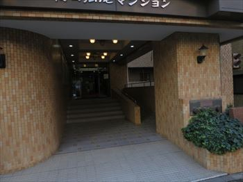 朝日広尾マンションエントランス_R