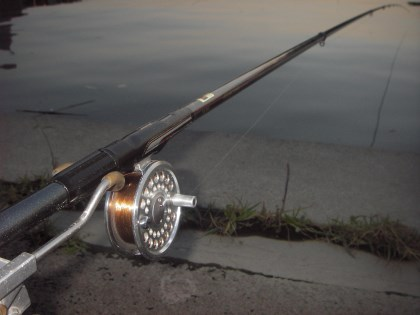 チヌ竿18尺リールミャク