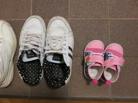 靴のサイズは13.0