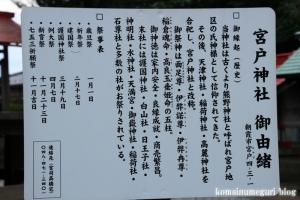 宮戸神社(志木市本町)14