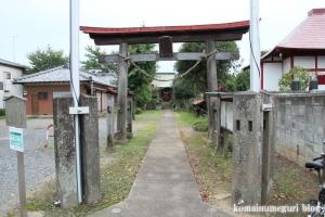 上ノ氷川神社(志木市上宗岡)1