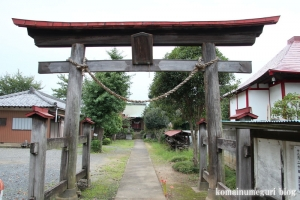 上ノ氷川神社(志木市上宗岡)3