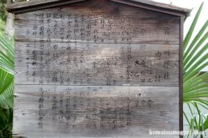 上ノ氷川神社(志木市上宗岡)8