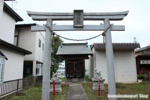 上ノ氷川神社(志木市上宗岡)12