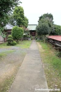 上ノ氷川神社(志木市上宗岡)5