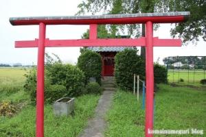 稲荷神社(志木市上宗岡)2