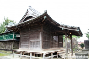 産財氷川神社(志木市中宗岡)6