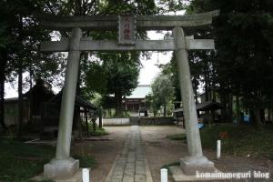 下ノ氷川神社(志木市下宗岡)2