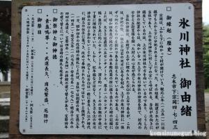 下ノ氷川神社(志木市下宗岡)10
