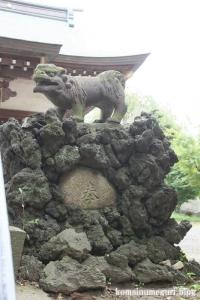 下ノ氷川神社(志木市下宗岡)21