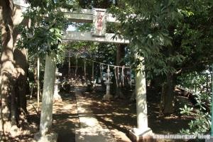 正八幡宮(鎌ヶ谷市中沢)1