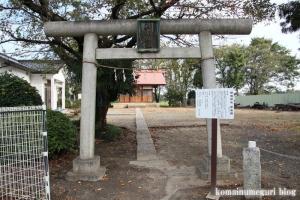 田島新明神社(朝霞市田島)2