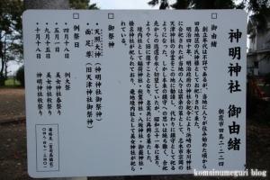 田島新明神社(朝霞市田島)4