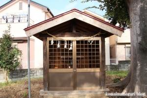 田島新明神社(朝霞市田島)14