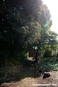 稲荷神社(朝霞市根岸台)1
