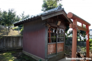 狭間稲荷神社(和光市新倉)4