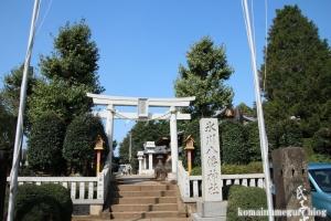 氷川八幡神社(和光市下新倉)2