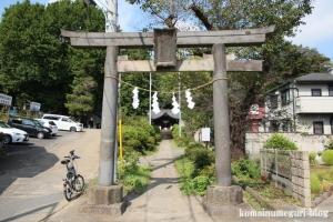 熊野神社(和光市白子)1