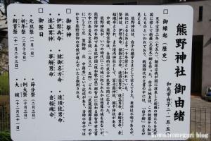 熊野神社(和光市白子)3
