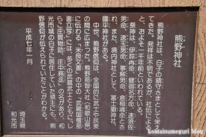 熊野神社(和光市白子)9