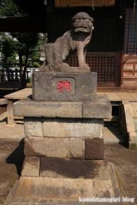 溝沼氷川神社(朝霞市本町)18