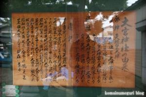 大宮神社(鶴見区茨田大宮)7