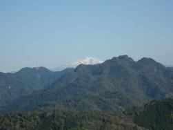 御嶽山(最初の岩場上から)