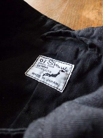 【orslow】US Navy Soutien Collar Coat 【オアスロウ】USネイビーステンカラーコート (ユニセックス)151026o10.jpg